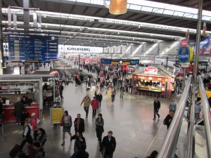 Train station in Munich